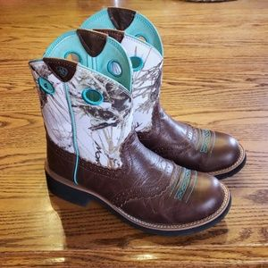 Ariat Fatbaby Western Cowgirl boots Size 9B